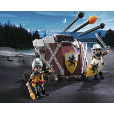 Catapulta tripla, PLAYMOBIL Knights