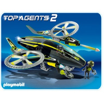 Mega elicopter, PLAYMOBIL Top Agents