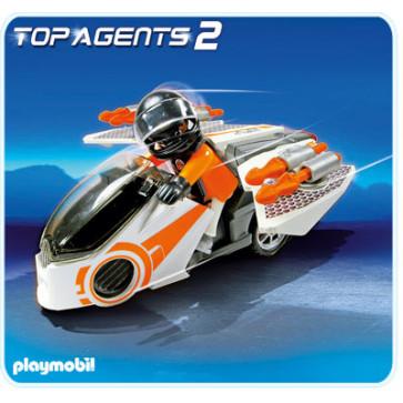 Motocicleta spionilor, PLAYMOBIL Top Agents