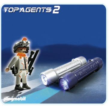 Lumini pentru spioni, PLAYMOBIL Top Agents