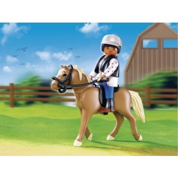Scoala de calarie cu tarc, PLAYMOBIL Pony Farm