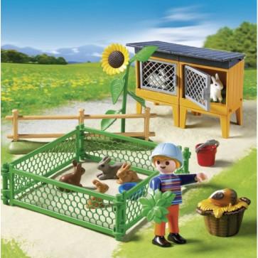 Tarc pentru iepuri, PLAYMOBIL Farm