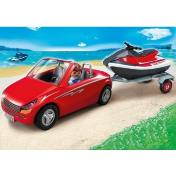 Masina cu Jet Ski, PLAYMOBIL Harbour