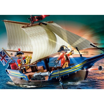 Nava de lupta a soldatilor, PLAYMOBIL Pirates