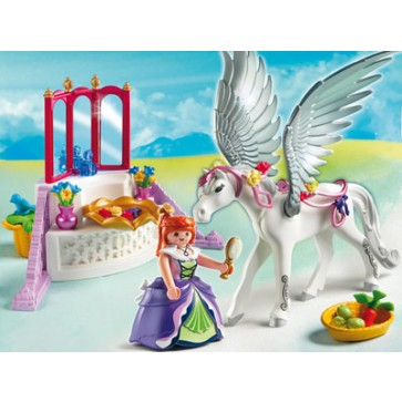 Printesa si cal inaripat, PLAYMOBIL Magic castle