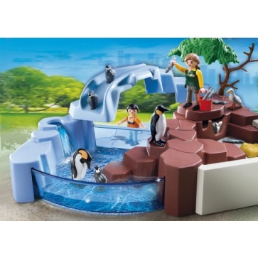 Super sert habitatul pinguinilor, PLAYMOBIL