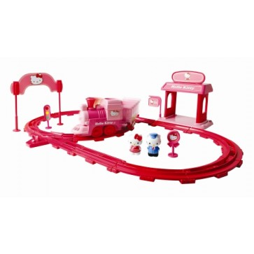 Set tren expres, HELLO KITTY Preschool
