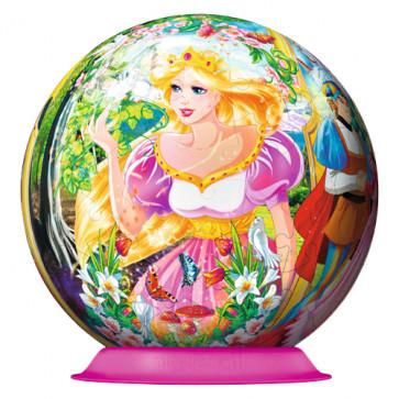 Puzzle 3D Disney Printesa Fermecata, 108 piese, RAVENSBURGER Puzzle 3D