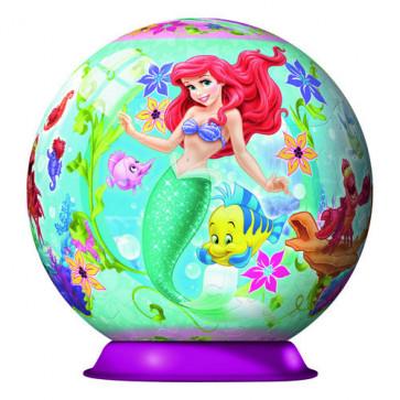 Puzzle 3D Ariel Mica Sirena, 108 piese, RAVENSBURGER Puzzle 3D