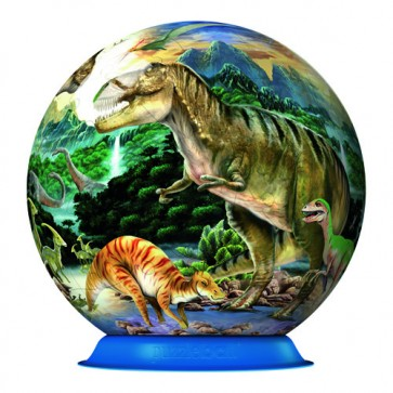 Puzzle 3D Dinozauri, 72 piese, RAVENSBURGER Puzzle 3D