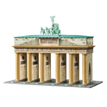 Puzzle 3D Poarta Brandenburg, 324 piese, RAVENSBURGER Puzzle 3D