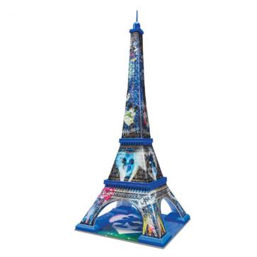 Puzzle 3D Turnul Eiffel Mickey si Minnie, 216 piese, RAVENSBURGER Puzzle 3D