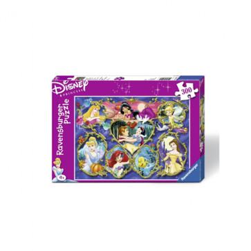 Puzzle Printesele Disney, 300 piese, RAVENSBURGER Puzzle Copii