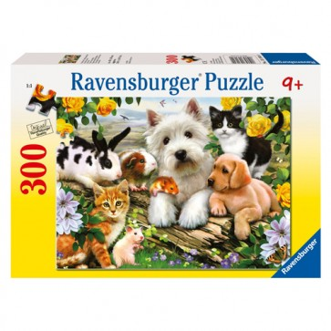 Puzzle Animare prietenoase, 300 piese, RAVENSBURGER Puzzle Copii