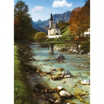 Puzzle Biserica Germana, 500 piese, RAVENSBURGER Puzzle Adulti