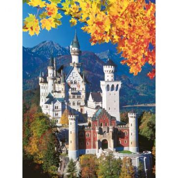 Puzzle Castelul Neuschwanstein toamna, 1500 piese, RAVENSBURGER Puzzle Adulti