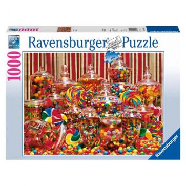 Puzzle bomboane, 1000 piese, RAVENSBURGER Puzzle Adulti