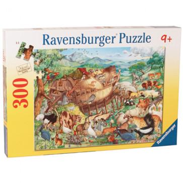 Puzzle Arca lui Noe, 300 piese, RAVENSBURGER Puzzle Copii