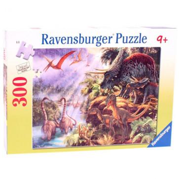 Puzzle Specii pe cale de disparitie, 300 piese, RAVENSBURGER Puzzle Copii