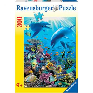 Puzzle Aventura subacvatica, 300 piese, RAVENSBURGER Puzzle Copii