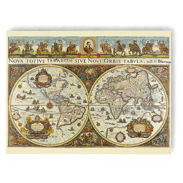 Puzzle harta lumii in 1665, 3000 piese, RAVENSBURGER Puzzle Adulti