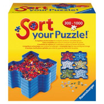 Tavite pentru sortat puzzle-urile, RAVENSBURGER Puzzle Adulti