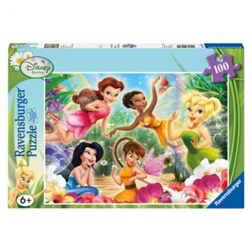 Puzzle Zanele Disney, 100 piese, RAVENSBURGER Puzzle Copii