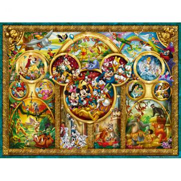 Puzzle temele Disney, 1000 piese, RAVENSBURGER Puzzle Adulti