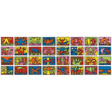 Puzzle Keith Haring - Retrospectiva dubla, 32000 piese, RAVENSBURGER Puzzle Adulti