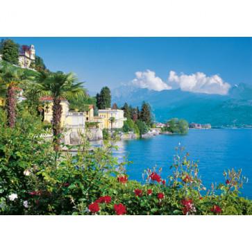Puzzle lacul Maggiore - Italia, 1500 piese, RAVENSBURGER Puzzle Adulti