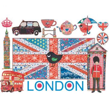 Puzzle Londra colorata, 1000 piese, RAVENSBURGER Puzzle Adulti