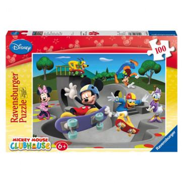 Puzzle Clubul amuzant al lui Disney, 100 piese, RAVENSBURGER Puzzle Copii