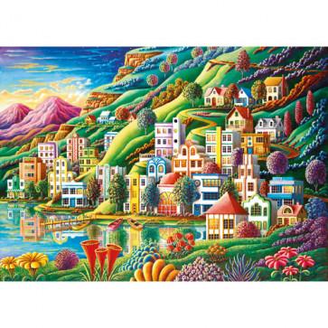 Puzzle orasul visului, 1000 piese, RAVENSBURGER Puzzle Adulti