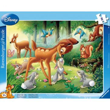 Puzzle Bambi, 8 piese, RAVENSBURGER Puzzle Copii