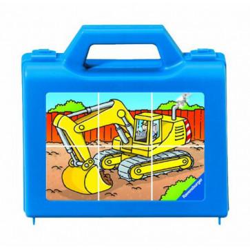 Puzzle vehicule funcionand, 6 piese, RAVENSBURGER Puzzle Copii