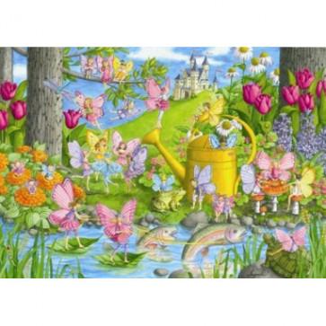 Puzzle Tinutul zanelor, 100 piese, RAVENSBURGER Puzzle Copii