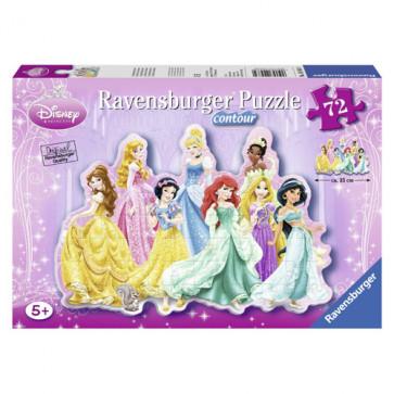 Puzzle printesele Disney, 72 piese, RAVENSBURGER