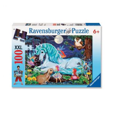 Puzzle Padure, 100 piese, RAVENSBURGER Puzzle Copii