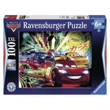 Puzzle Disney cars, 100 piese, RAVENSBURGER Puzzle Copii