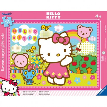 Puzzle Hello Kitty, 31 piese, RAVENSBURGER