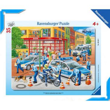 Puzzle fortele politiei, 35 piese, RAVENSBURGER