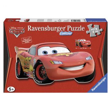 Puzzle fulgerul McQueen, 72 piese, RAVENSBURGER