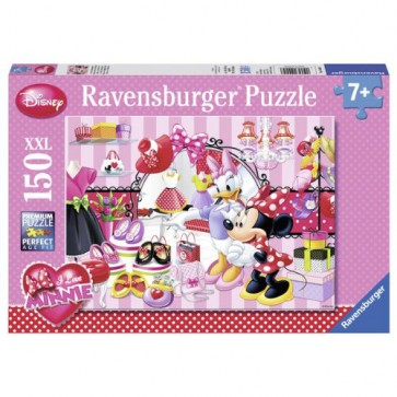 Puzzle Minnie Mouse, 24 piese RAVENSBURGER Puzzle Copii