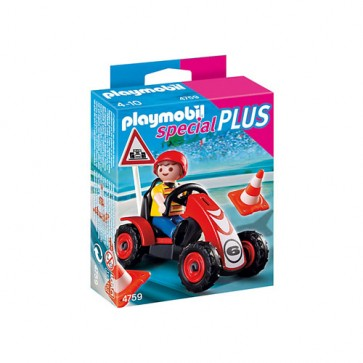 Baiat si cart de curse, PLAYMOBIL Special Plus