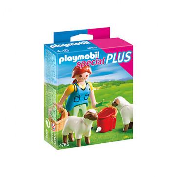 Femeie cu macare pentru oi, PLAYMOBIL Special Plus