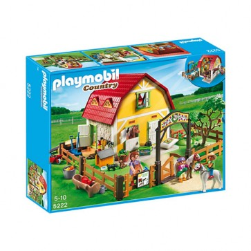 Ferma poneilor, PLAYMOBIL Pony Farm