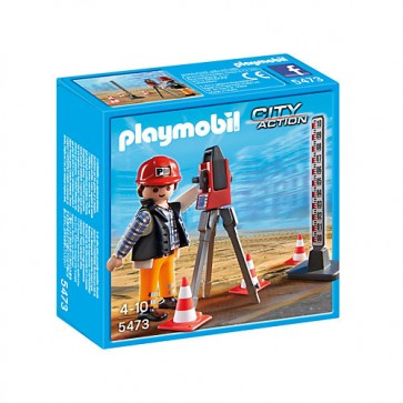 Inginer topograf, PLAYMOBIL Construction