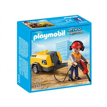 Muncitor in constructii, PLAYMOBIL Construction