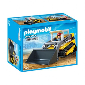 Excavator compact, PLAYMOBIL Construction