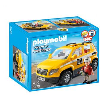Vehiculul supraveghetorului, PLAYMOBIL Construction